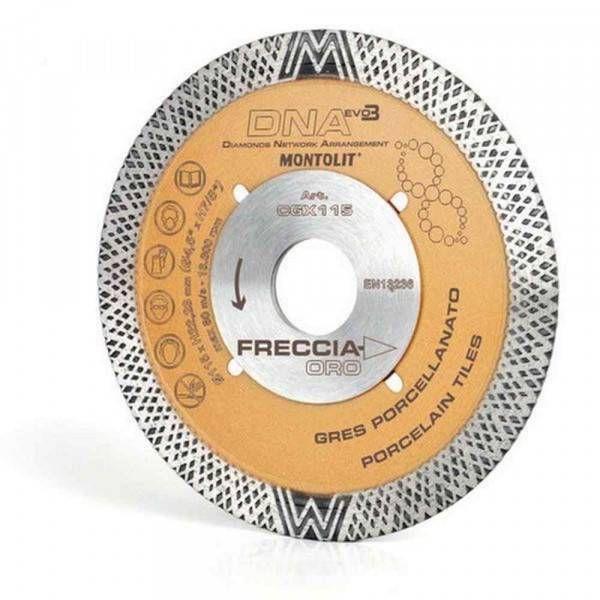 Disco diamantato 115 mm CGX115 Freccia Oro Montolit