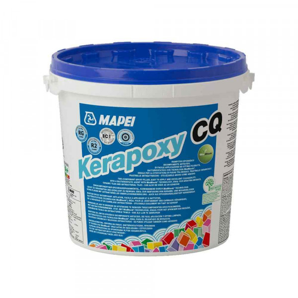 Kerapoxy CQ Mapei malta epossidica bicomponente per fughe 3 Kg