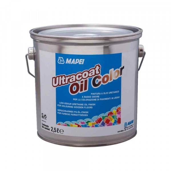 Ultracoat Oil Color Mapei finitura ad olio per legno 2,5 Lt