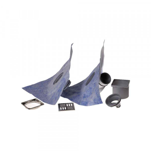 Drain Vertical Mapei Kit per scarico a pavimento diametro 100mm
