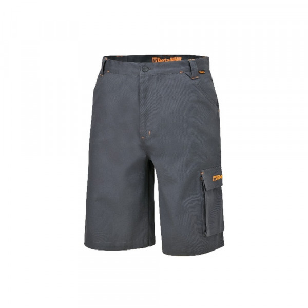 Bermuda da lavoro grigio payne 260gr 7931P Workwear Cotton Beta