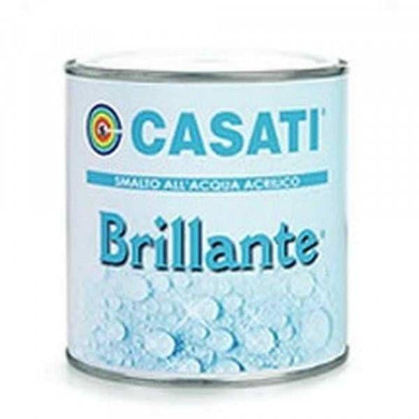 Smalto acrilico all'acqua satinato 0.75lt Brillante Casati