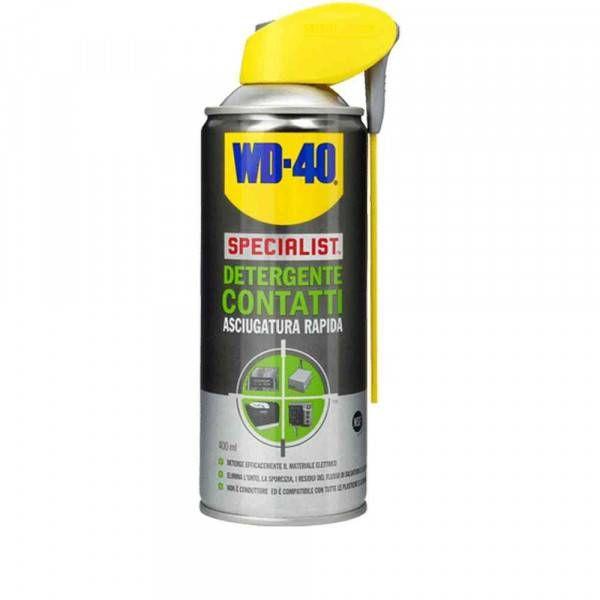 Spray detergente contatti ad asciugatura rapida 400ml Detergente Contatti WD 40