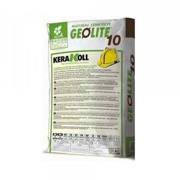Geolite 10 Kerakoll Geomalta minerale eco-compatibile a presa rapida per strutture in calcestruzzo 25 Kg