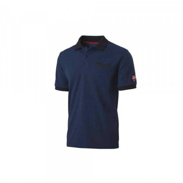 Polo manica corta INN-INDIANAPOLIS colore Blue Saylor 22DUC2 Ducati Workwear