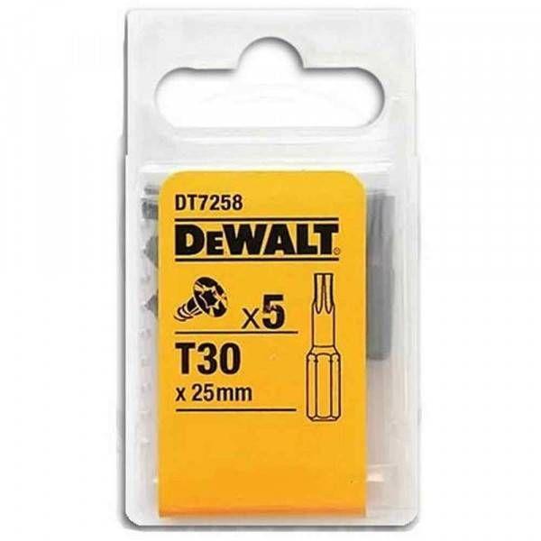 Inserto Extreme T30 conf.5pz DT7258 DeWalt
