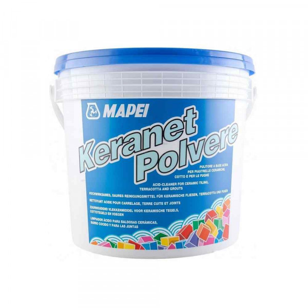 Keranet Mapei pulitore a base acida in polvere