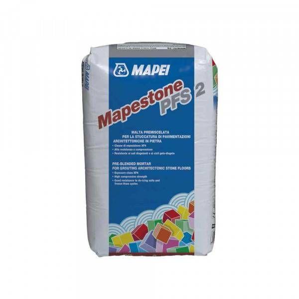 Mapestone PFS2 Mapei malta premiscelata per la stuccatura di pavimentazioni neutro 25 Kg