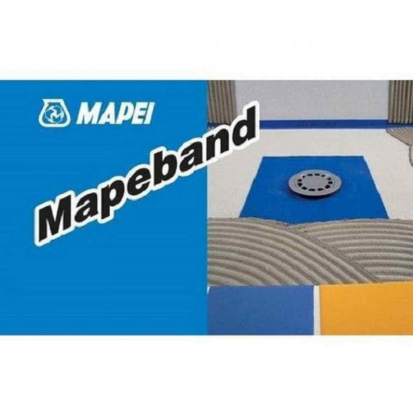 Mascherina per fori 400x400mm Mapeband Mapei