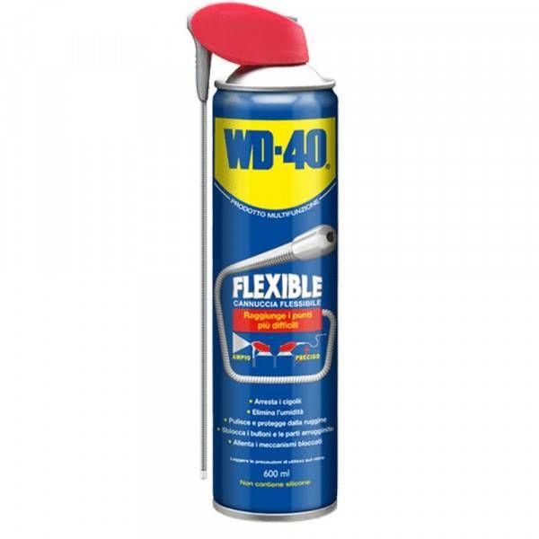 Spray lubrificante universale con cannuccia flessibile 600ml Flexible WD 40