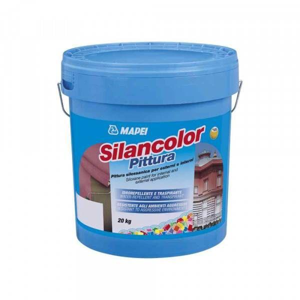 Silancolor Pittura Mapei pittura silossanica per esterni ed interni 1 Kg