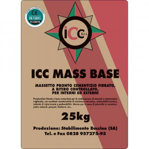 Massetto pronto base 25 Kg ICC