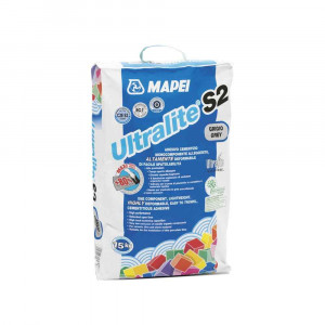 Collante bianco 15KG Ultralite S2 Mapei