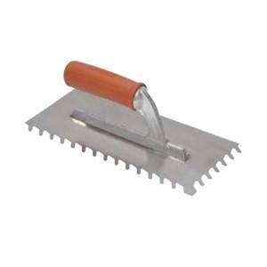 Frattone americano con manico gomma dente inclinato 36x13cm (10mm) 184HFV10 Raimondi