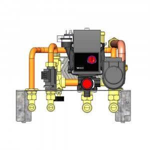 Kit idraulico RW C/ACS per Laguna2 P 1015640 Edilkamin