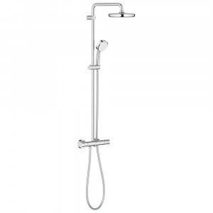 Colonna doccia con miscelatore termostatico+ Doccetta + Soffione d210mm 279220001 Tempesta System Grohe