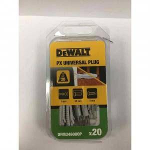 Tassello nylon universale PX 6x35 DFM346000P DeWalt