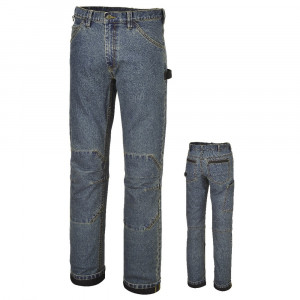 Jeans da lavoro elasticizzati blu Slim fit 7526 Beta