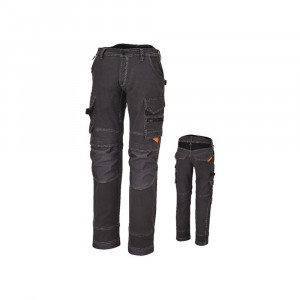 Pantaloni da lavoro multitasche 260gr 7816G Pants Beta