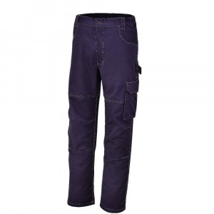 Pantaloni da lavoro blu in twill 245gr 7840BL Beta