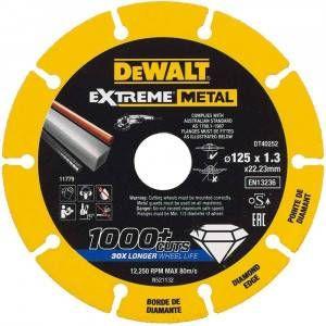 Disco Extreme Diamond DT40252 125 x 22.23 x 1.3mm DeWalt