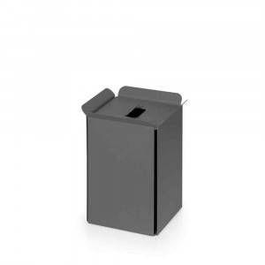 Gettacarta in alluminio verniciato antracite Art.53442.17 Bandoni Lineabeta