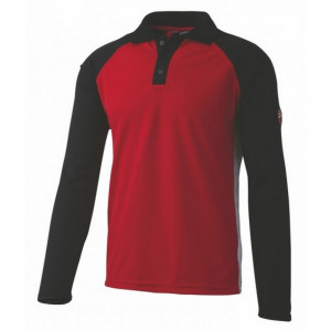 Polo manica lunga rosso/nero 23DUC1 Inn Assen Ducati Workwear