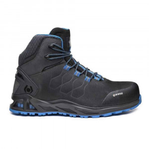 Scarpa alta in nabuk nero/blu S3 HRO SRC B1001 Kaptive K-Road Top Base Protection