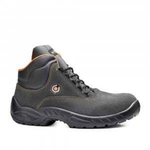 Scarpa alta Victoria scamosciata grigio/arancio S1P SRC B0152 Base protection