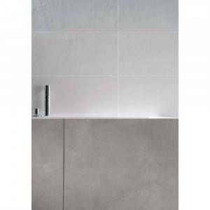 Pavimento grès porcellanato Bianco Puro Bocciardato 30x60 1^ PA07 Tono F52 conf.1.08 Re Plain Mirage