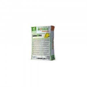 Intonaco naturale eco-compatibile per intonacature traspiranti 25Kg Biocalce Intonaco Kerakoll