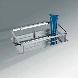 Angoliera doccia rettangolare a sgancio cromo Colombo Design