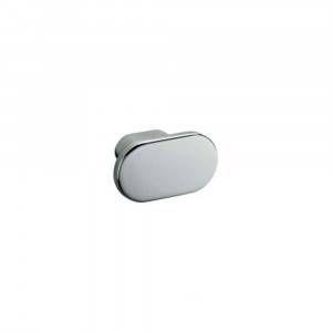 Porta accapatoio ovale cromo Basic Colombo Design