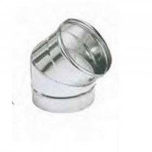 Curva 45° acciaio AISI 316 220mm Polymaxacciai