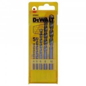 Set 5 punte calcestruzzo DT6952-QZ DeWalt