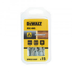 Tassello nylon percussione collare svasato diametro 6 mm BSC-NHS DeWalt