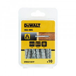 Tassello nylon percussione collare svasato diametro 8 mm BSC-NHS DeWalt