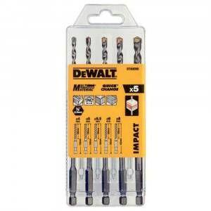 Set 5 punte attacco esagonale DT60099 DeWalt