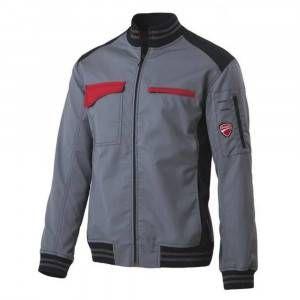 Giacca sfoderata grigio chiaro/nero inn sprint ducati workwear 60DUC1 Ducati