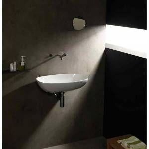 Lavabo bianco 60cm Nudaslim ND60L Flaminia Ceramica