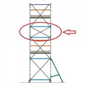 Mezza campata intermedia completa POK1/2 CAM Frigerio