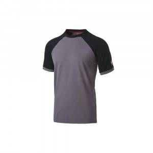 T-Shirt Inn-Valencia colore Grigio e Nero 20DUC1 Ducati Workwear