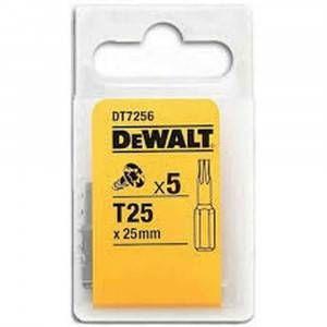 Inserto Extreme T25 conf.5pz DT7256 DeWalt