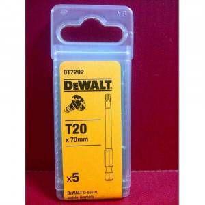 Inserto Torx 70mm T20 DT7292 DeWalt