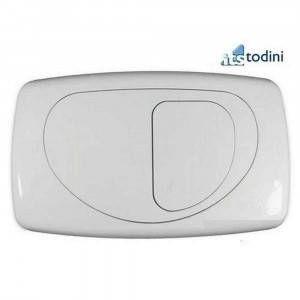Placca di comando complementare per Hidrofix/Hidrobox Evolution dual bianca 1415E ITS Todini