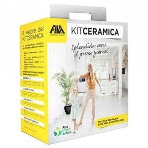 Kit specifico per la pulizia dopo posa e manutenzione Kit Ceramica Fila