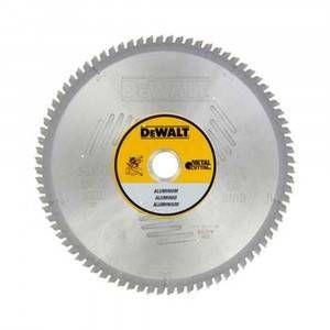 Lama circolare per alluminio 305x30mm 80 denti  DT1916 DeWalt