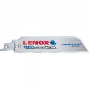 Kit 5 lame per sega universale taglio metallo gravoso 152x25x0.9 Lazer Lenox