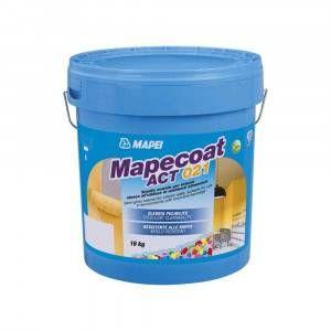 Smalto murale per interno idoneo ambienti alimentari 4Kg Mapecoat ACT 021 Mapei