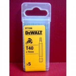 Inserto Torx 70mm T40 Art. DT7296 DeWalt